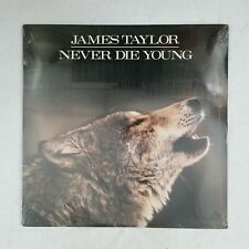JAMES TAYLOR Never Die Young FC40851 LP Vinyl SEALED