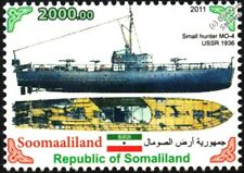 "MO-4 Small Hunter ""Moshka"" (Fly) Guard Ship WWII Soviet/Russian Warship Stamp"