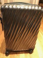 New Tumi Short Trip 19 Degree Poly Luggage  228664 Black Graphite Rare!