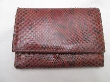 Joli portefeuille - porte monnaie EMPORIO cuir reptile vintage /