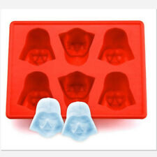 6-Cavity Star Wars Darth Vader Silicone Ice Tray Candy Chocolate Cookies Mold