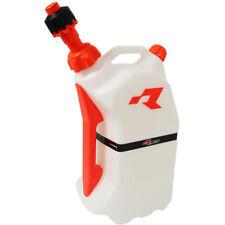 RACETECH MX Motocross Dirt Bike Enduro 15l Orange Quick-fill Fuel Can