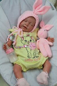 """REBORN BABY DOLLS to 7lbs CHILD FRIENDLY 20"""" outfit colour varies SUNBEAMBABIES"""