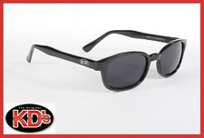 Original KD's Sunglasses Dark Grey Lens Biker Shades Free Pouch 2120
