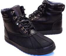 Polo Ralph Lauren Regnald Black Fashion Ankle Boot Men's US Shoe Size 8D NEW