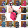 New ! Cross-body Mobile Phone Shoulder Bag Pouch Case Belt Handbag Purse Wallet