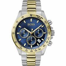 Hugo Boss Men's Hero Sport Lux Stainless Steel Two-Tone Watch HB1513767