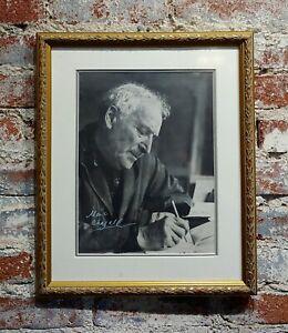 Portrait of Marc Chagall - Original 8x10 Photograph -Signed -c1960s