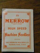 Merrow High Speed Machine Needles No.5D Kooltorr