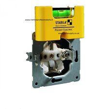 Stabila spirit Wasserwaage Pocket Electronic 17775 Neu Plastic KOSTENLOS Versand