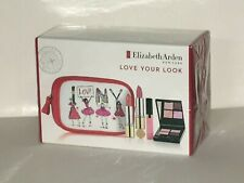 ELIZABETH ARDEN LOVE YOUR LOOK COSMETIC SET (MIXED ITEMS) SEALED BOX-NEW!