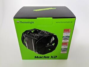Thermalright Macho X2 CPU Kühler / High Performance Tower Cooler / 2x 140mm