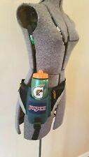 VTG 94, Jansport Fanny Pack with Water Bottle Holder,Dark Forest Green