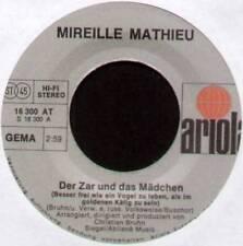 """MIREILLE MATHIEU ~ DER ZAR UND DAS MADCHEN ~ 1975 GERMAN 7"""" SINGLE"""
