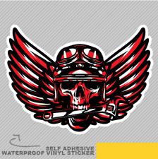 Ghost Rider Cráneo Road Biker Herramientas Pegatina de Vinilo Calcomanía ventana de coche furgoneta bicicleta 2394