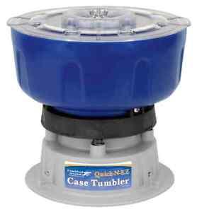 QuicknEz Case Tumbler Bullet Brass Cleaner Cleaning Kit Ammo Reloading 110V NEW