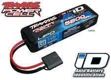 Traxxas 2843X 2S 7.4V 5800mAh 25C LiPo Battery iD Connector Bandit VXL / Summit