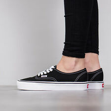 Nero 40.5 EU Vans Authentic Lite Sneaker Unisex-adulto (canvas) Scarpe (t95)