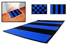 INTER - Zerbino tifosi - tappeto neroazzurro con antiscivolo - cm 80x50