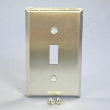 Mulberry Stainless Steel 1-Gang Switch Cover Toggle Wallplate Switchplate 97071