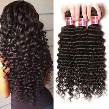 100g/Bundle Brazilian Curly Straight Body Wave Hair Wet And Wavy Human Hair Weft