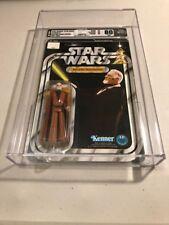 Vintage Kenner Star Wars 12 Back-B Ben (Obi-Wan) Kenobi (Grey Hair)   AFA 80