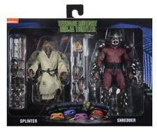 NECA TMNT 90s Movie SPLINTER and SHREDDER Action Figure Walmart Exclusive 2-Pack