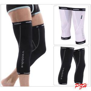 Cycling Knee Warmers Sport Running Leg Warmer Thermal Sun UV Protection M-XXL