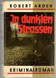 1 - Leihbuch, Robert Arden, In dunklen Strassen