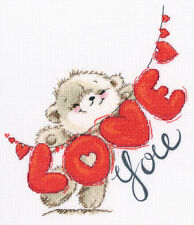 """Counted Cross Stitch Kit RTO M70033 - """"Love You"""""""