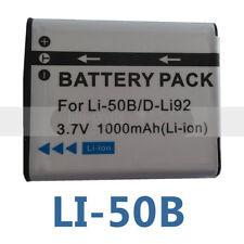 Battery for Pentax D-BC92 D-Li92 Optio RZ18 RZ10 I-10 X70 WG-2 WG-1