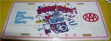 Walt Disney World WDW Surprise   20 years AAA License Plate