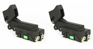 (2) Trigger Switch 24/12A-125/250V for Makita 651172-0, 651121-7, 651168-1