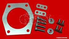 Bmw e36, e30, e39 placa adaptador ansaugbrücke m50 a m52 motor + accesorios más PS
