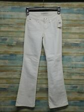 Women's Juniors Joe's Jeans Provocateur Jenny White Boot cut Stretch 24 x 31