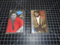 2 Classic Funk & Soul Vintage Audio Cassettes By Jermaine Jackson Arista Records