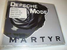 RAR MAXI CD. DEPECHE MODE. MARTYR. 3 TRACKS. WITH STICKER