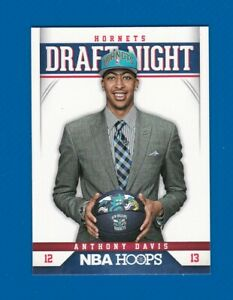 2012-2013 NBA Hoops Anthony Davis Draft Night Rookie Card #1