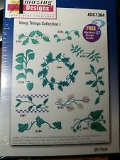 Amazing Designs Viney Things Collection 1 Embroidery Designs Brand New!