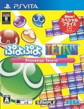 PS VITA Puyo Puyo Tetris Special Price Edition SEGA GAMES