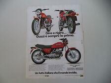 advertising Pubblicità 1982 MOTO GUZZI V35 V 35 II
