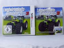Landwirtschafts-Simulator 2012 3D für Nintendo 3DS/2DS - OVP+Anl. - Gut