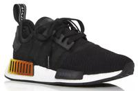 Adidas Womens Black NMD R1 Low-Top Sneakers Size 7.5 N1402
