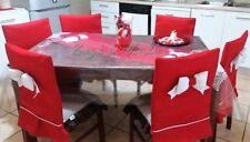 Sedie Decorate Per Natale : Copri sedia natale acquisti online su ebay