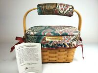 1996 Longaberger Edition Dresden Tour Basket II Combo Signed Jerry Longaberger