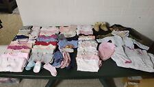 Baby bekleidung paket mädchen 62/68, Herbst/Winter, 55 Teile