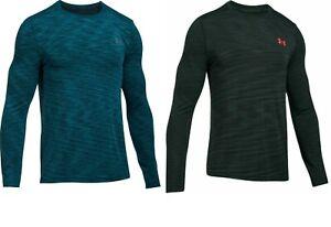 Under Armour Threadborne Long Sleeve Seamless Top Gym Workout Run T Shirt E131