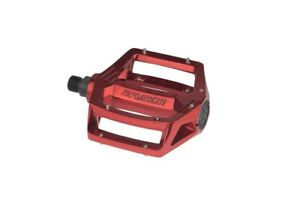 New BMX Haro Fusion Alloy Pedals Set 9/16 Red Colour