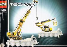 Lego 8421 Pneumatik Kranwagen mit Motor NUR 2 Anleitungen