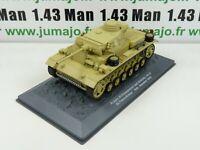 TK19U altaya IXO 1/43 TANKS WW2 : PzKpfw III Flammpanzer Ausf M SdKfz 141/3 1943